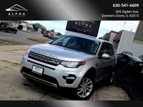 2016 Land Rover Discovery Sport for sale at Alpha Luxury Motors in Downers Grove IL