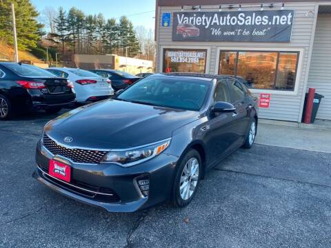 2018 Kia Optima for sale at Variety Auto Sales in Worcester MA