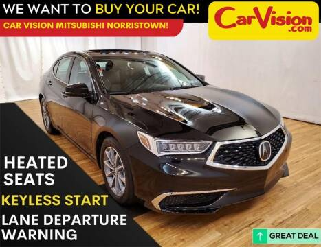 2018 Acura TLX for sale at Car Vision Mitsubishi Norristown in Trooper PA