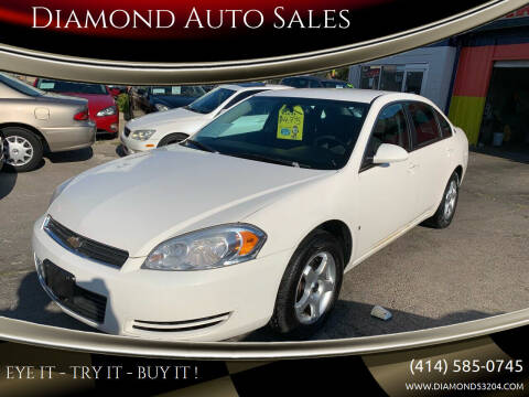 2008 Chevrolet Impala for sale at Diamond Auto Sales in Milwaukee WI