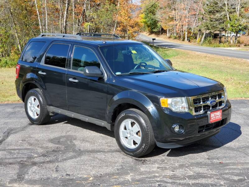 2012 Ford Escape for sale at Bethel Auto Sales in Bethel ME