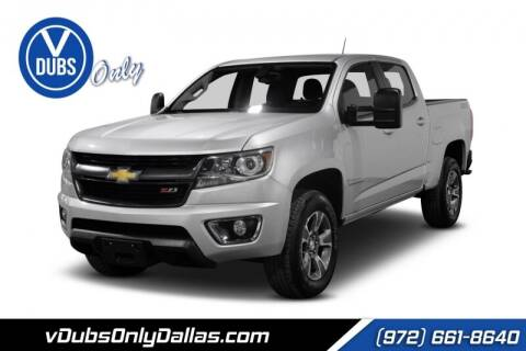 2015 Chevrolet Colorado for sale at VDUBS ONLY in Dallas TX