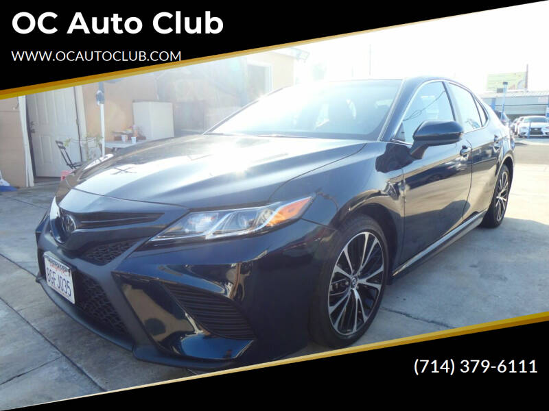 2019 Toyota Camry for sale at OC Auto Club in Midway City CA
