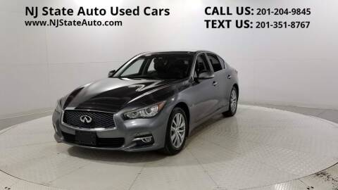 2015 Infiniti Q50 for sale at NJ State Auto Auction in Jersey City NJ