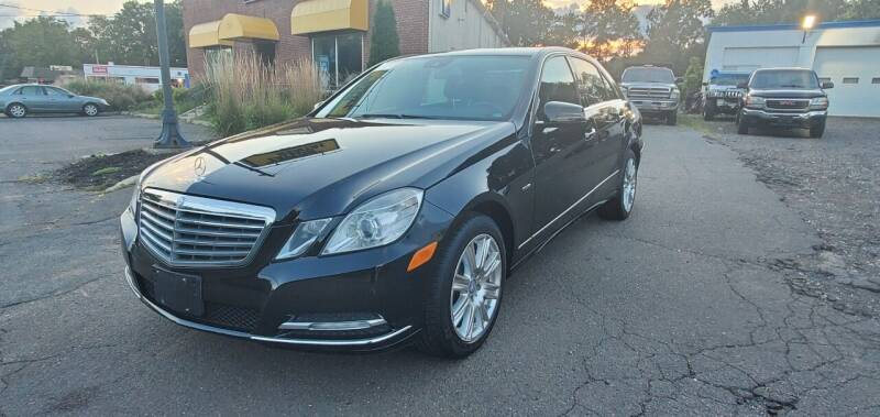 2012 Mercedes-Benz E-Class for sale at Russo's Auto Exchange LLC in Enfield CT