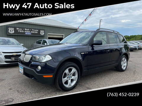2007 BMW X3 for sale at Hwy 47 Auto Sales in Saint Francis MN