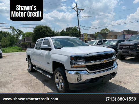 2018 Chevrolet Silverado 1500 for sale at Shawn's Motor Credit in Houston TX
