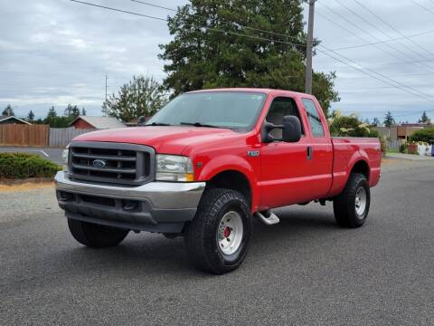 2002 Ford F-250 Super Duty for sale at Baboor Auto Sales in Lakewood WA