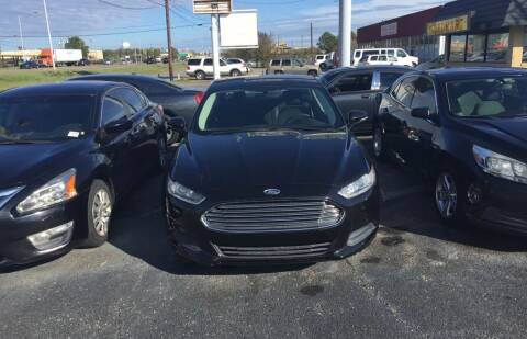 2013 Ford Fusion for sale at Dependable Auto Sales in Montgomery AL