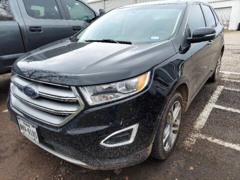 2017 Ford Edge for sale at Stanley Ford Gilmer in Gilmer TX