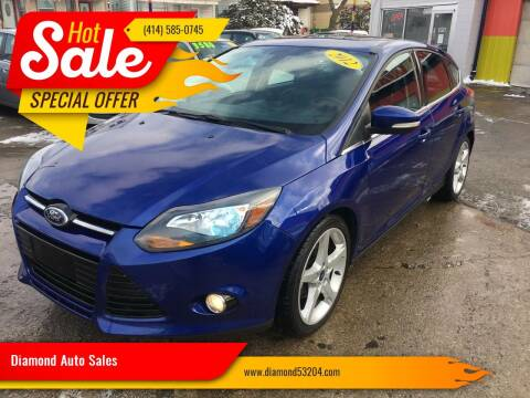 2012 Ford Focus for sale at Diamond Auto Sales in Milwaukee WI