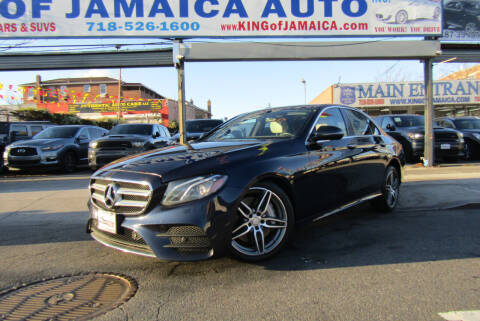 2017 Mercedes-Benz E-Class for sale at MIKEY AUTO INC in Hollis NY