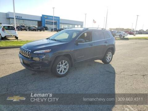 2018 Jeep Cherokee for sale at Leman's Chevy City in Bloomington IL