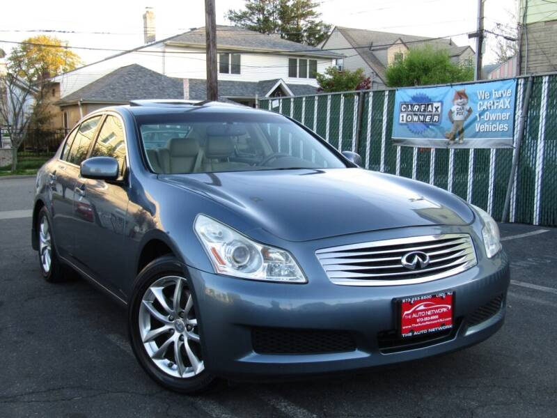 2007 Infiniti G35 for sale at The Auto Network in Lodi NJ
