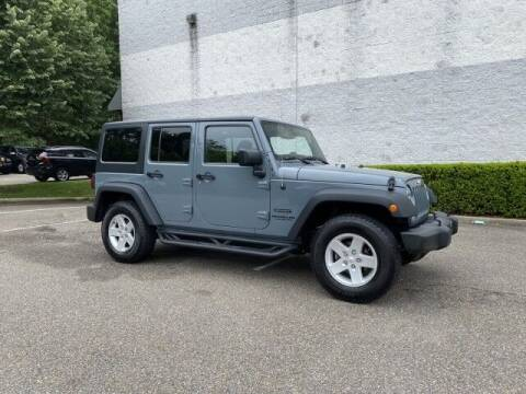2015 Jeep Wrangler Unlimited for sale at Select Auto in Smithtown NY
