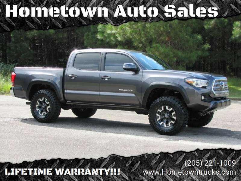 2017 Toyota Tacoma for sale at Hometown Auto Sales - Trucks in Jasper AL