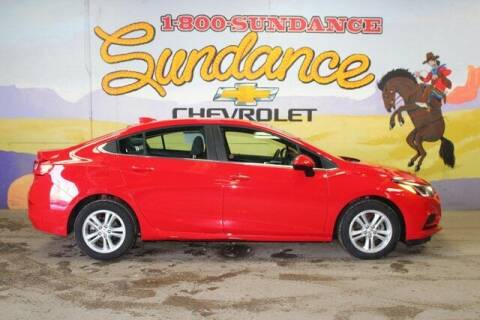 2018 Chevrolet Cruze for sale at Sundance Chevrolet in Grand Ledge MI