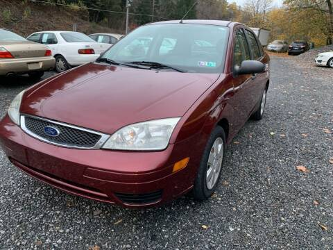 2007 Ford Focus for sale at JM Auto Sales in Shenandoah PA