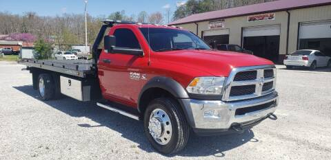 2018 RAM Ram Chassis 5500 for sale at COOPER AUTO SALES in Oneida TN