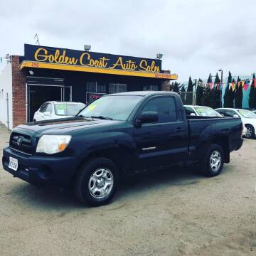 2007 Toyota Tacoma for sale at Golden Coast Auto Sales in Guadalupe CA