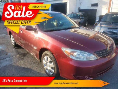 2003 Toyota Camry for sale at JR's Auto Connection in Hudson NH