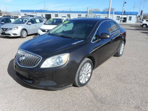 2015 Buick Verano for sale at AUGE'S SALES AND SERVICE in Belen NM