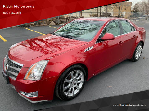 2008 Cadillac CTS for sale at Klean Motorsports in Skokie IL