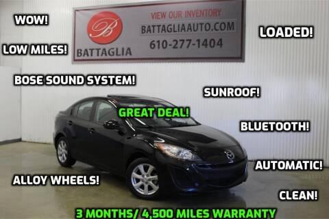 2011 Mazda MAZDA3 for sale at Battaglia Auto Sales in Plymouth Meeting PA