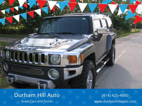 2008 HUMMER H3 for sale at Durham Hill Auto in Muskego WI