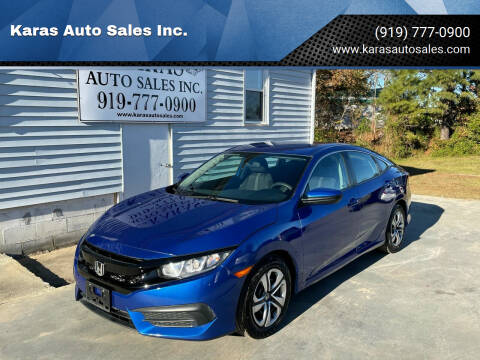 2018 Honda Civic for sale at Karas Auto Sales Inc. in Sanford NC