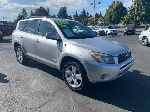 2007 Toyota RAV4 for sale at Pacific Point Auto Sales in Lakewood WA