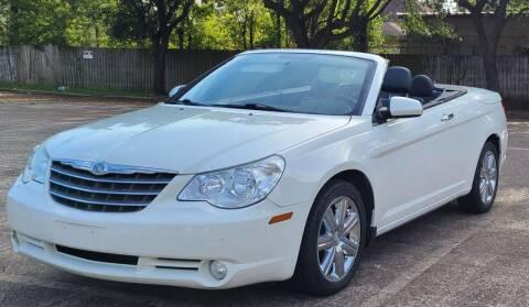 2010 Chrysler Sebring for sale at Mr Cars LLC in Houston TX