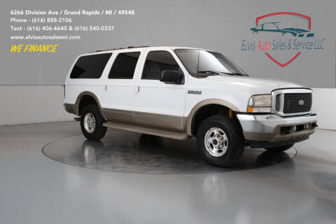 2002 Ford Excursion for sale at Elvis Auto Sales LLC in Grand Rapids MI