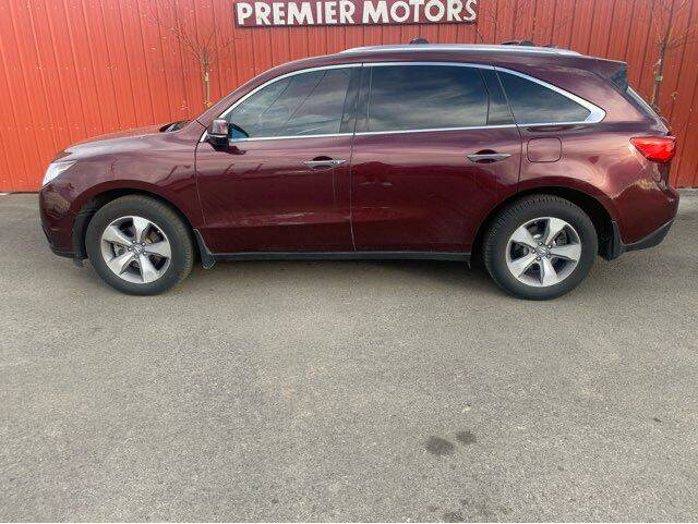 2014 Acura MDX for sale at PremierMotors INC. in Milton Freewater OR