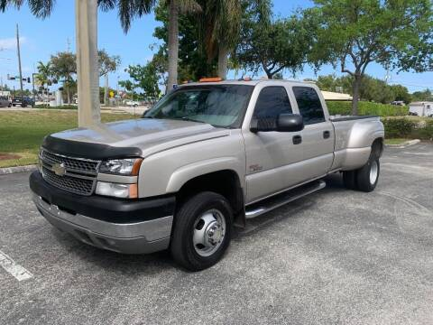 2005 Chevrolet Silverado 3500 for sale at BIG BOY DIESELS in Ft Lauderdale FL
