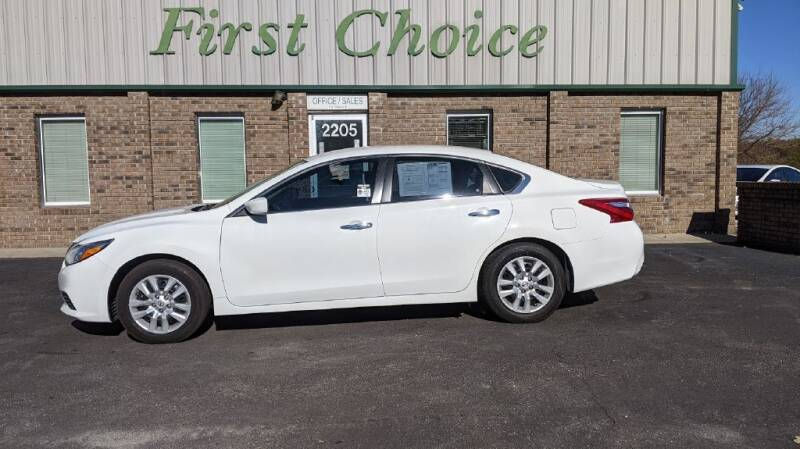 2017 Nissan Altima for sale at First Choice Auto in Greenville SC
