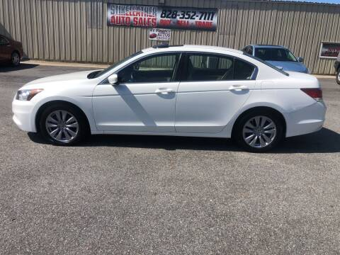 2012 Honda Accord for sale at Stikeleather Auto Sales in Taylorsville NC