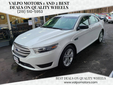 2017 Ford Taurus for sale at Valpo Motors Inc. in Valparaiso IN