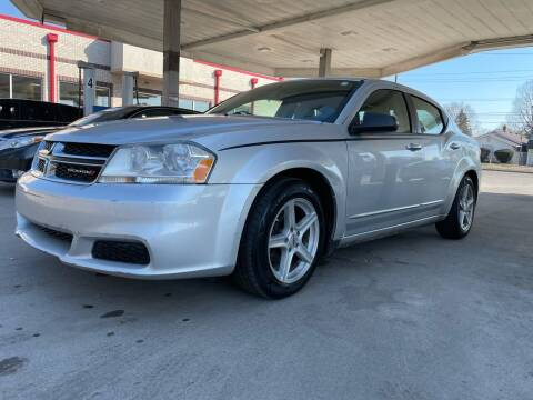 2012 Dodge Avenger for sale at JE Auto Sales LLC in Indianapolis IN