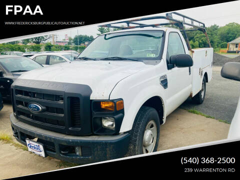 2008 Ford F-250 Super Duty for sale at FPAA in Fredericksburg VA