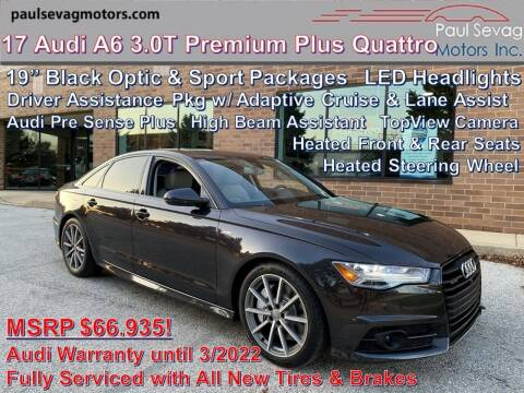 2017 Audi A6 for sale at Paul Sevag Motors Inc in West Chester PA