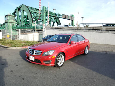 2012 Mercedes-Benz C-Class for sale at Imports Auto Sales & Service in Alameda CA