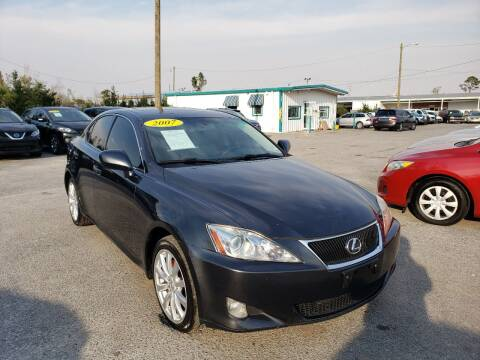 2007 Lexus IS 250 for sale at Jamrock Auto Sales of Panama City in Panama City FL