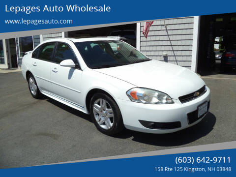 2011 Chevrolet Impala for sale at Lepages Auto Wholesale in Kingston NH
