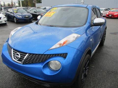 2011 Nissan JUKE for sale at GMA Of Everett in Everett WA