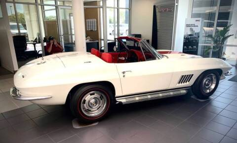 1967 Chevrolet Corvette for sale at Suncoast Sports Cars and Exotics in West Palm Beach FL