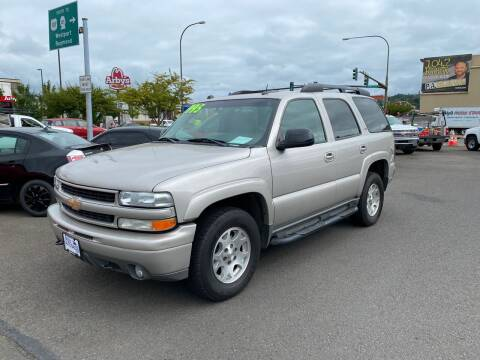 2005 Chevrolet Tahoe for sale at Aberdeen Auto Sales in Aberdeen WA