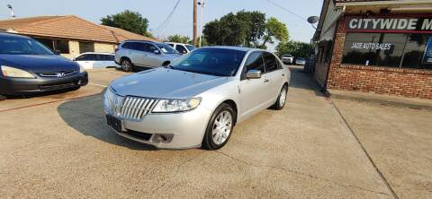 2011 Lincoln MKZ for sale at CityWide Motors in Garland TX