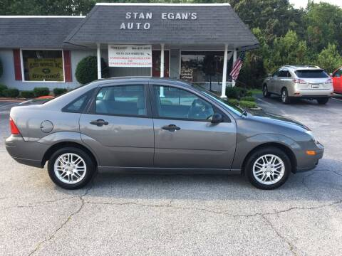 2007 Ford Focus for sale at STAN EGAN'S AUTO WORLD, INC. in Greer SC