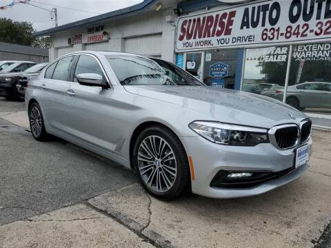 2017 BMW 5 Series for sale at Sunrise Auto Outlet in Amityville NY
